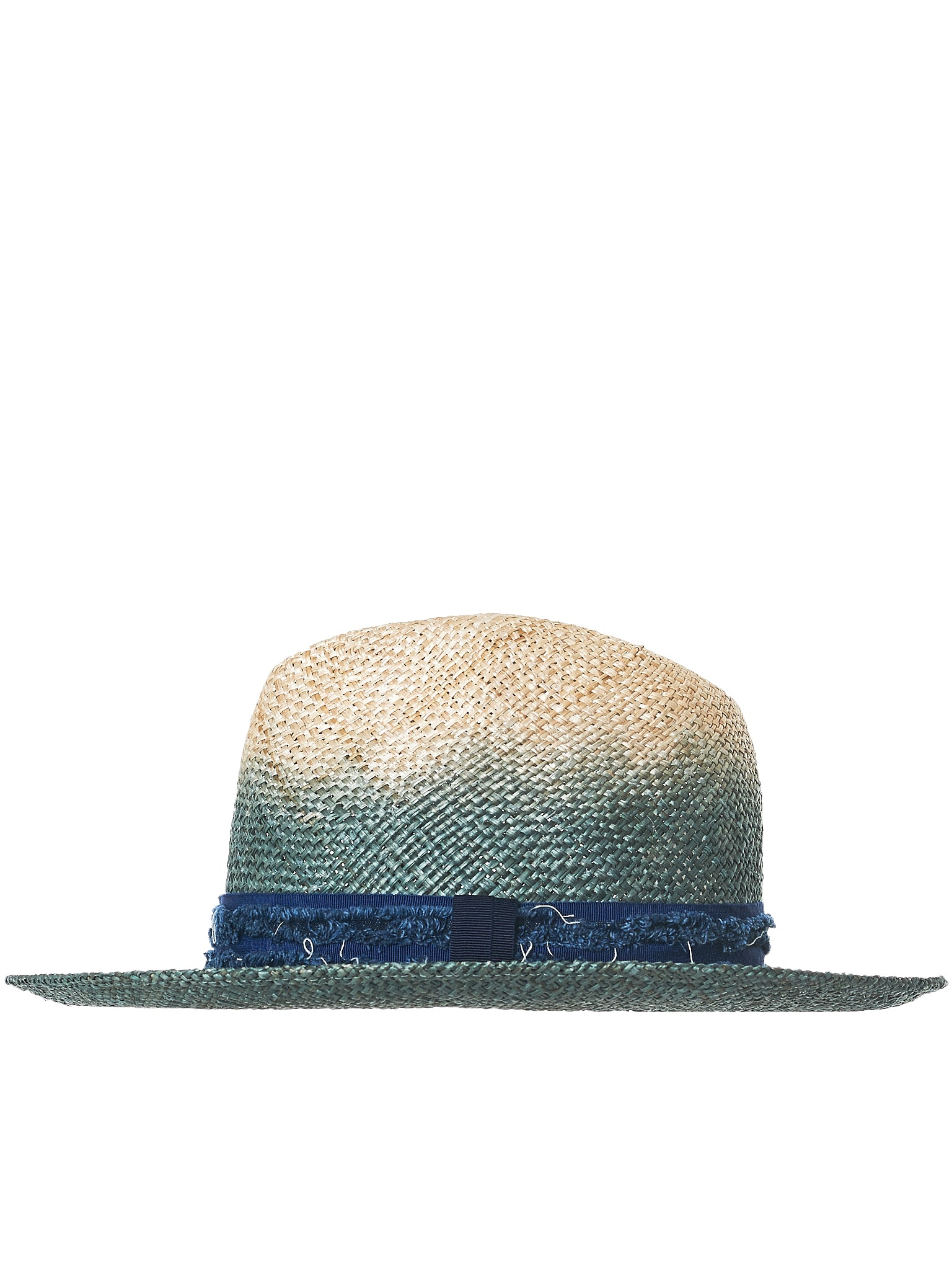 Gradient Straw Hat (ZKN01590-BLUE)