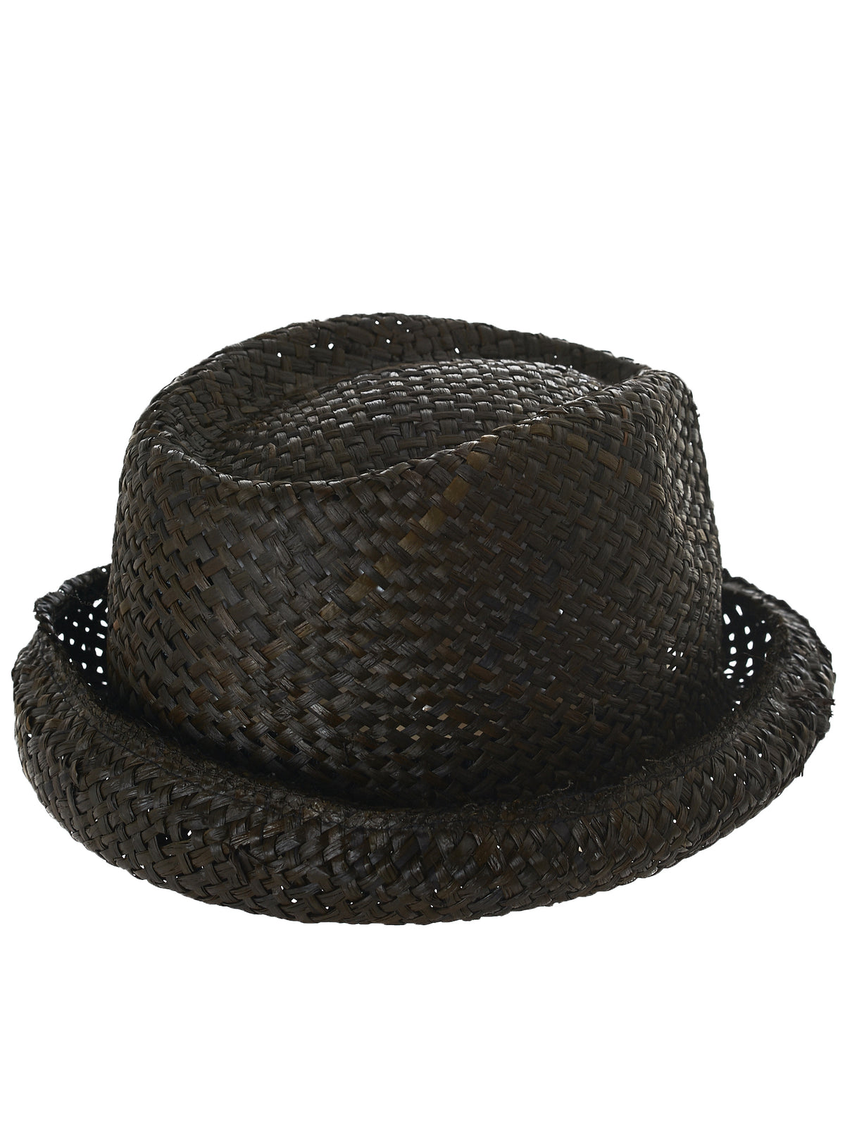 Isabel Benenato Braided Hat - Hlorenzo Detail