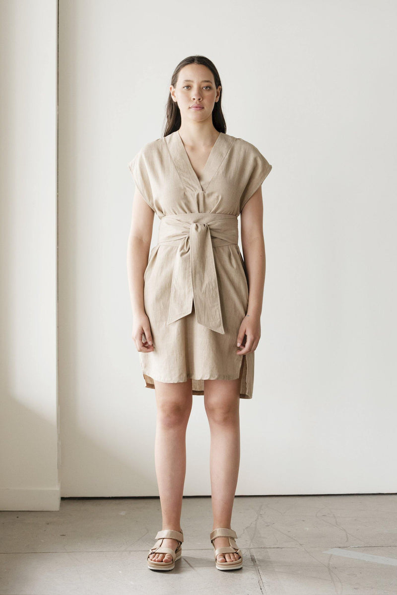Elevate Handwoven Dress - ReCreate Clothing - The Colab Store