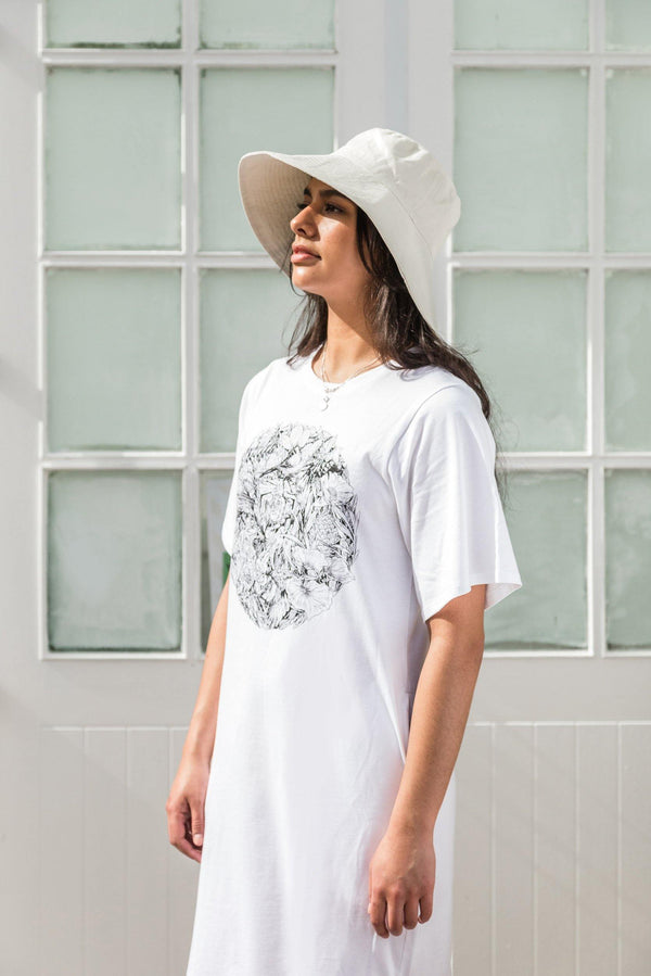 ReCreate Clothing | Flora & Fauna Cotton Dress | The Colab Store  | Shop Womens | New Zealand