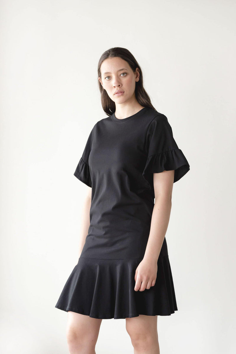 ReCreate Clothing | Voyage Cotton Dress | Black | The Colab Store  | Shop Womens | New Zealand