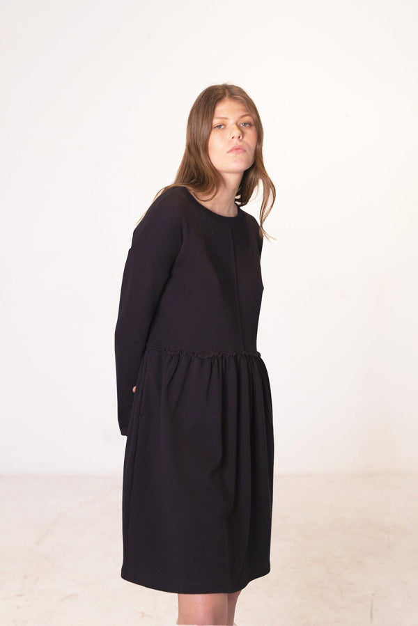 ReCreate Clothing | Translation Sweater Dress | Black | The Colab Store  | Shop Womens | New Zealand