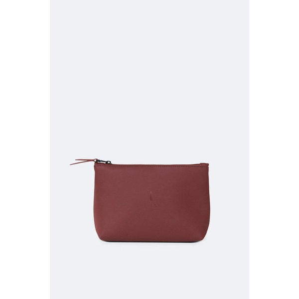 Rains | Cosmetic Bag | Maroon Red | The Colab Store  | Shop Womens | New Zealand