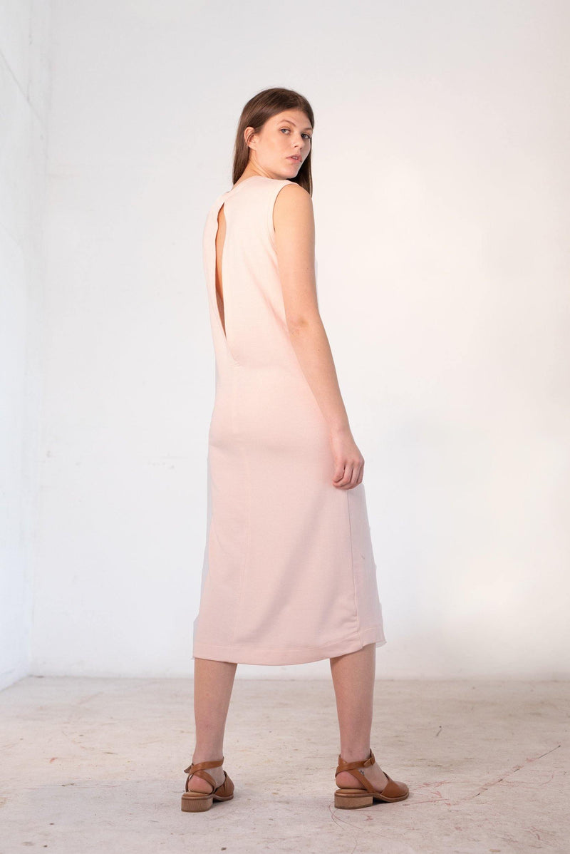 The Colab Store  | Pillar Dress | Dusty Pink | The Colab Store  | Shop Womens | New Zealand