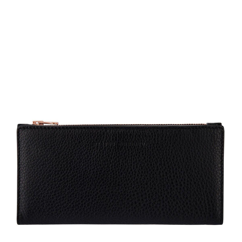 Status Anxiety | In The Beginning Leather Wallet | Black | The Colab Store  | Shop Womens | New Zealand