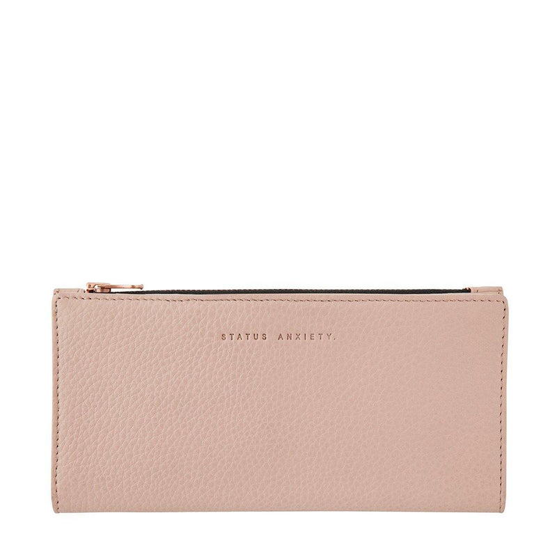 Status Anxiety | In The Beginning Leather Wallet | Dusty Pink | The Colab Store  | Shop Womens | New Zealand