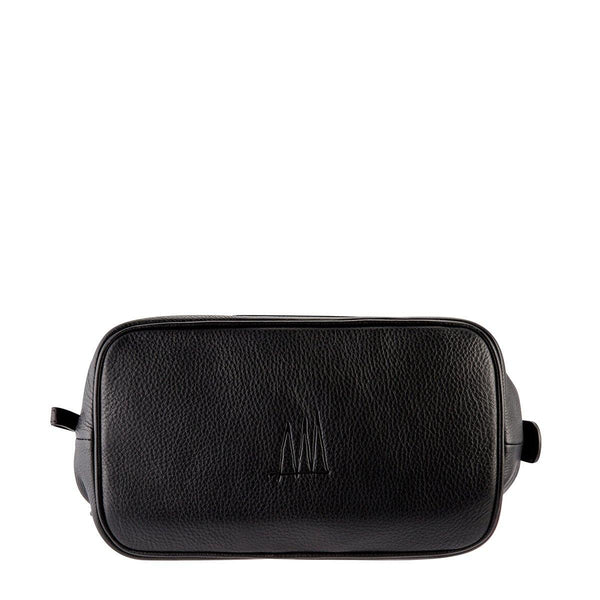 Status Anxiety | Liability Leather Toiletries Bag | Black | The Colab Store  | Shop Womens | New Zealand