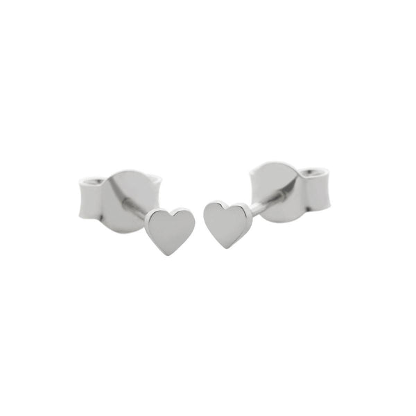 Micro Heart Studs-Meadowlark-The Colab Store