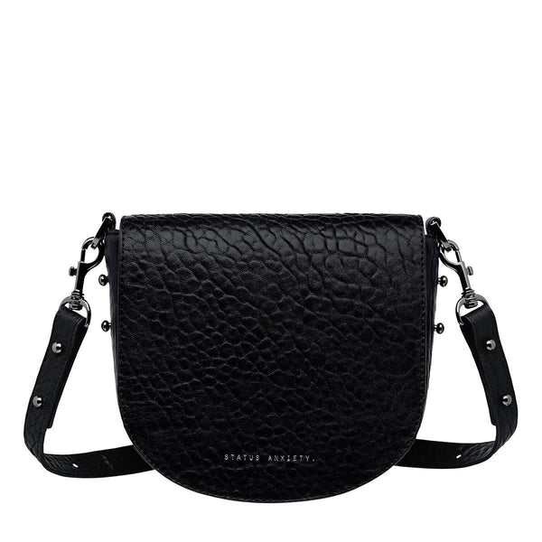 PREORDER Status Anxiety | Art Of Pretending Leather Bag | Black Bubble | The Colab Store  | Shop Womens | New Zealand