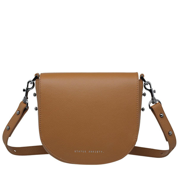PREORDER Status Anxiety | Art Of Pretending Leather Bag | Tan | The Colab Store  | Shop Womens | New Zealand