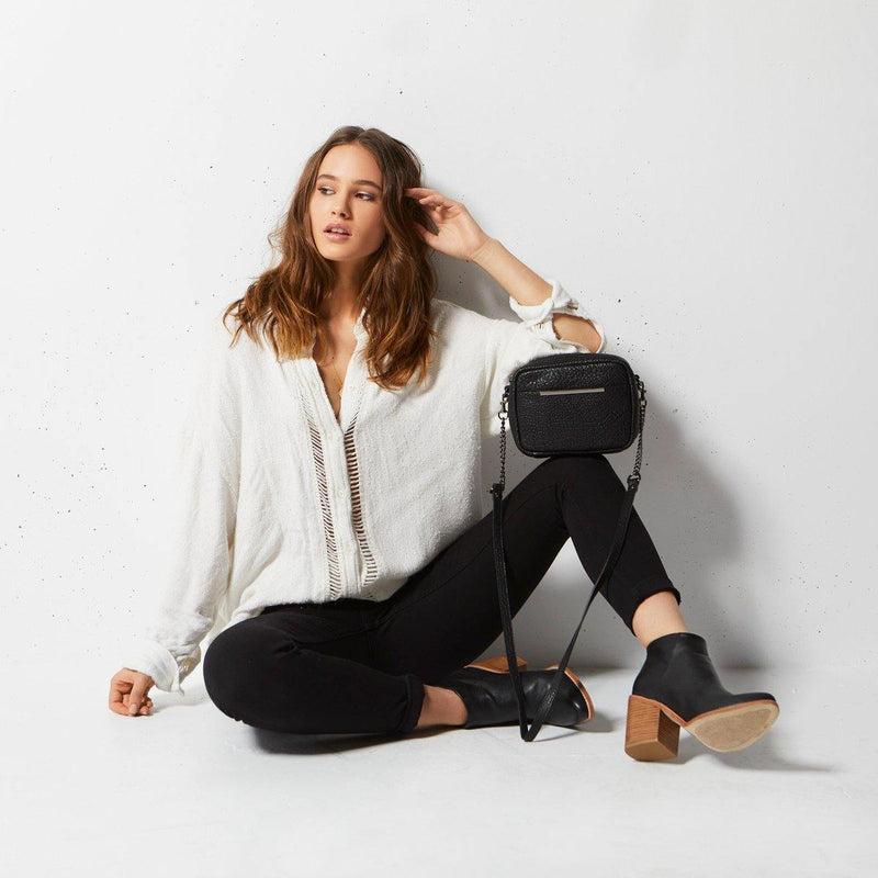 PREORDER Status Anxiety | Cult Leather Bag | Black Bubble | The Colab Store  | Shop Womens | New Zealand