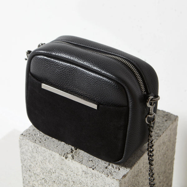 PREORDER Status Anxiety | Cult Leather Bag | Black Nubuck | The Colab Store  | Shop Womens | New Zealand