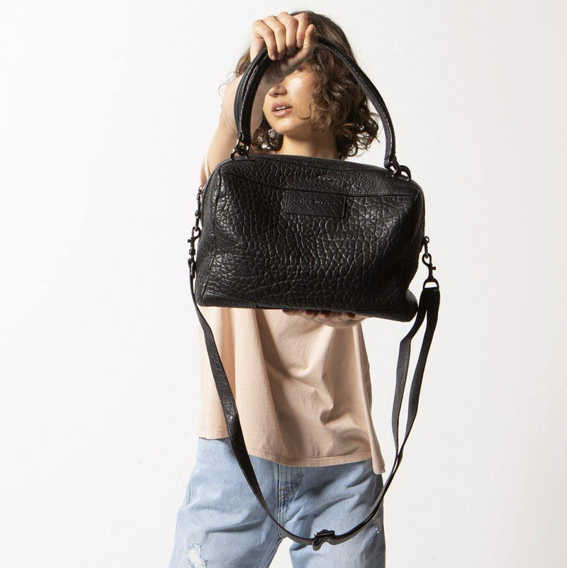 PREORDER Status Anxiety | Don't Ask Leather Bag | Black Bubble | The Colab Store  | Shop Womens | New Zealand