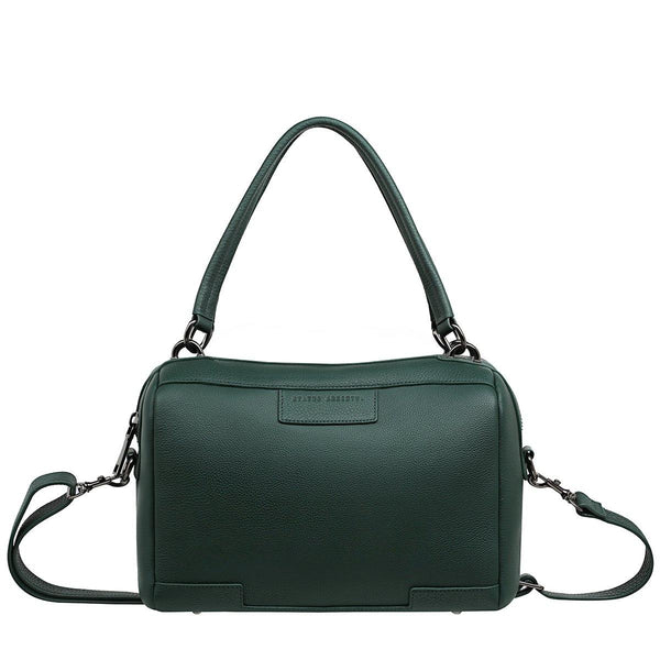 PREORDER Status Anxiety | Don't Ask Leather Bag | Green | The Colab Store  | Shop Womens | New Zealand