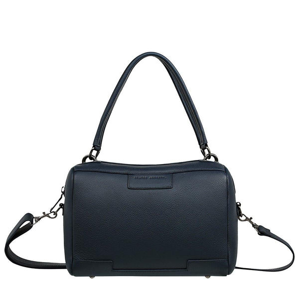 PREORDER Status Anxiety | Don't Ask Leather Bag | Navy Blue | The Colab Store  | Shop Womens | New Zealand