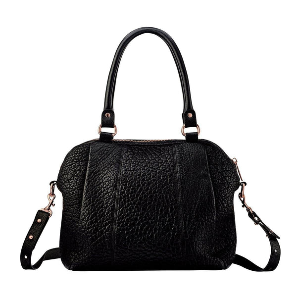 PREORDER Status Anxiety | Force Of Being Leather Bag | Black Bubble | The Colab Store  | Shop Womens | New Zealand