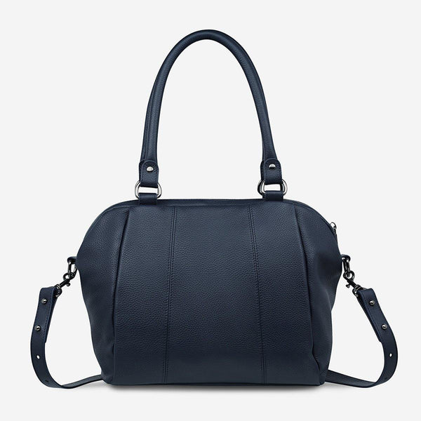 PREORDER Status Anxiety | Force Of Being Leather Bag | Navy Blue | The Colab Store  | Shop Womens | New Zealand