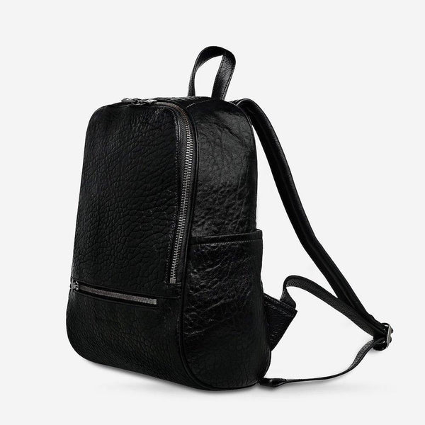 PREORDER Status Anxiety | If You Call Leather Backpack | Black Bubble | The Colab Store  | Shop Womens | New Zealand