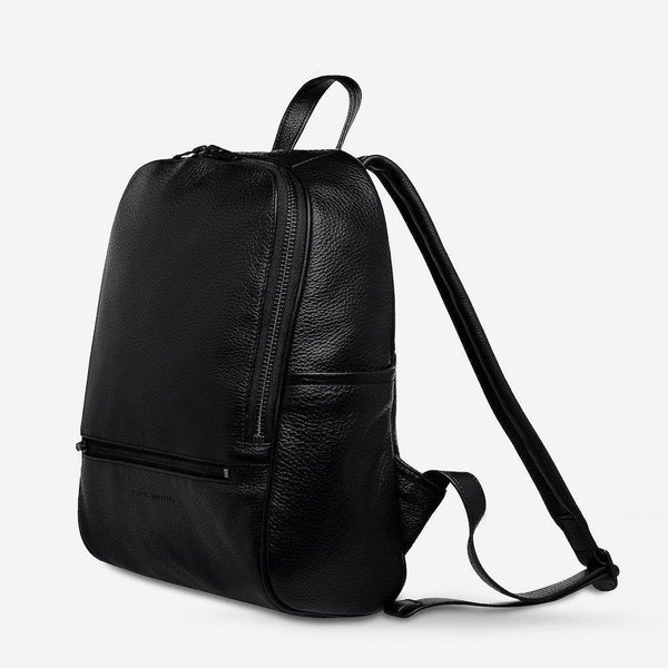 PREORDER Status Anxiety | If You Call Leather Backpack | Black | The Colab Store  | Shop Womens | New Zealand