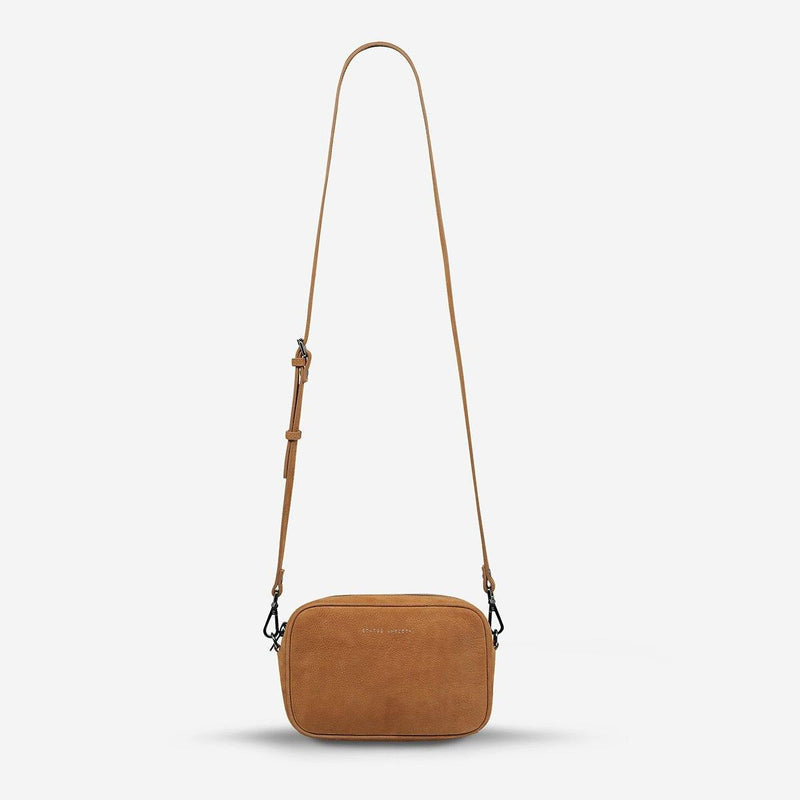 PREORDER Status Anxiety | Plunder Leather Bag | Tan Nubuck | The Colab Store  | Shop Womens | New Zealand