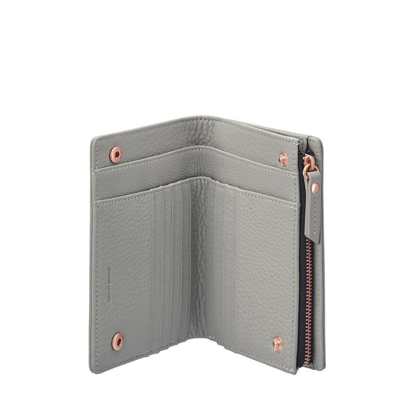 PREORDER Status Anxiety | Insurgency Leather Wallet | Grey | The Colab Store  | Shop Womens | New Zealand