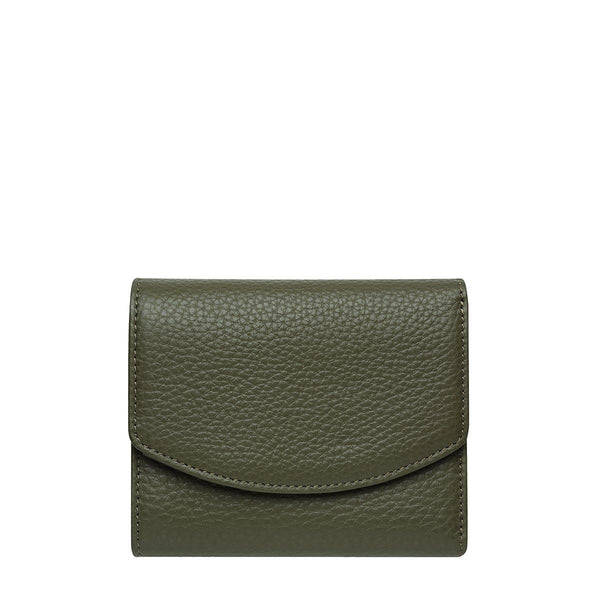 PREORDER Status Anxiety | Lucky Sometimes Leather Wallet | Khaki Green | The Colab Store  | Shop Womens | New Zealand