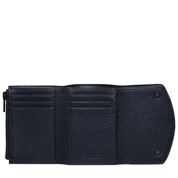 PREORDER Status Anxiety | Lucky Sometimes Leather Wallet | Navy Blue | The Colab Store  | Shop Womens | New Zealand