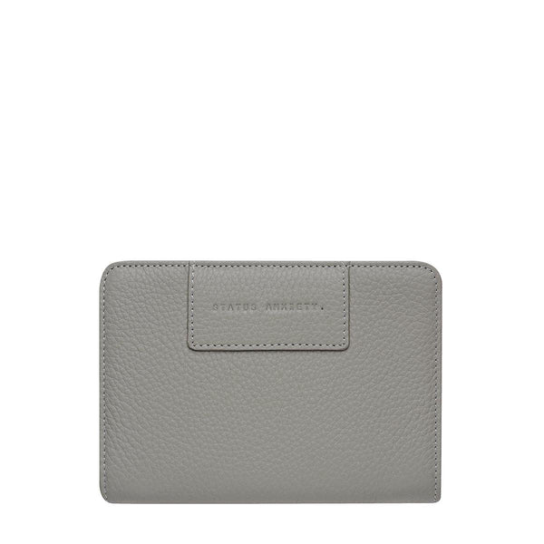 PREORDER Status Anxiety | Popular Problems Leather Wallet | Grey | The Colab Store  | Shop Womens | New Zealand