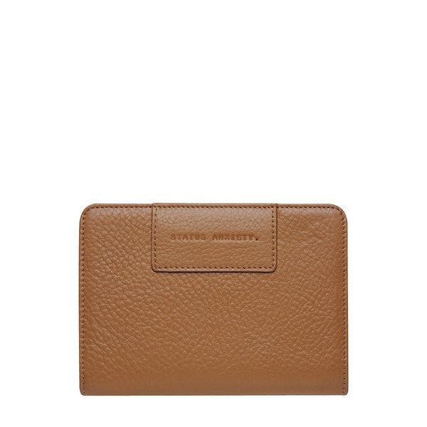 PREORDER Status Anxiety | Popular Problems Leather Wallet | Tan | The Colab Store  | Shop Womens | New Zealand