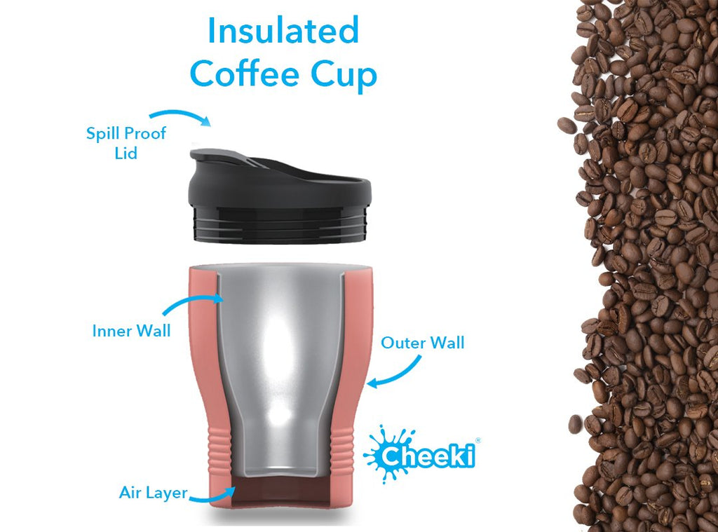 Why you should use insulated coffee cups when going reusable