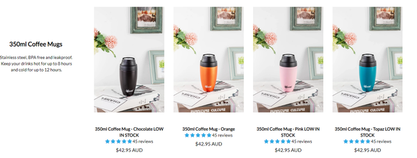 Insulated Leak Proof Mugs