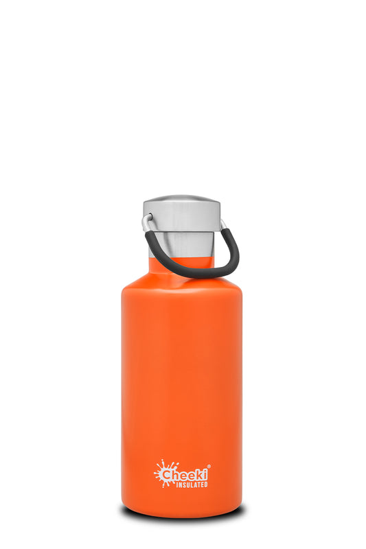 400ml Classic Insulated Bottle - Orange LOW IN STOCK