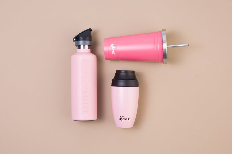 600ml Insulated Active Bottle - Pink