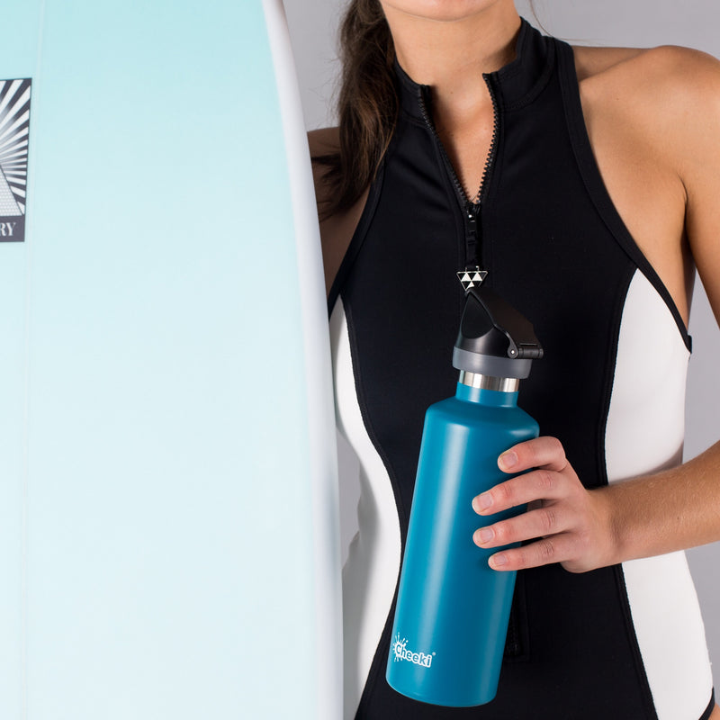 600ml Insulated Active Bottle - Topaz