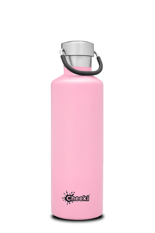 600ml Classic Insulated Bottle - Pink