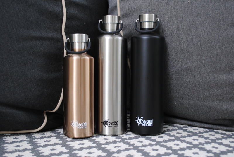 600ml Classic Insulated Bottle - Champagne