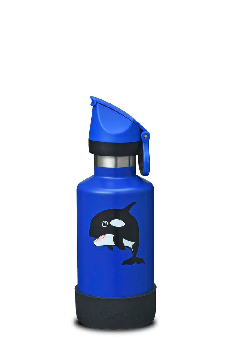 400ml Insulated Kids Bottle - Oska the Orca