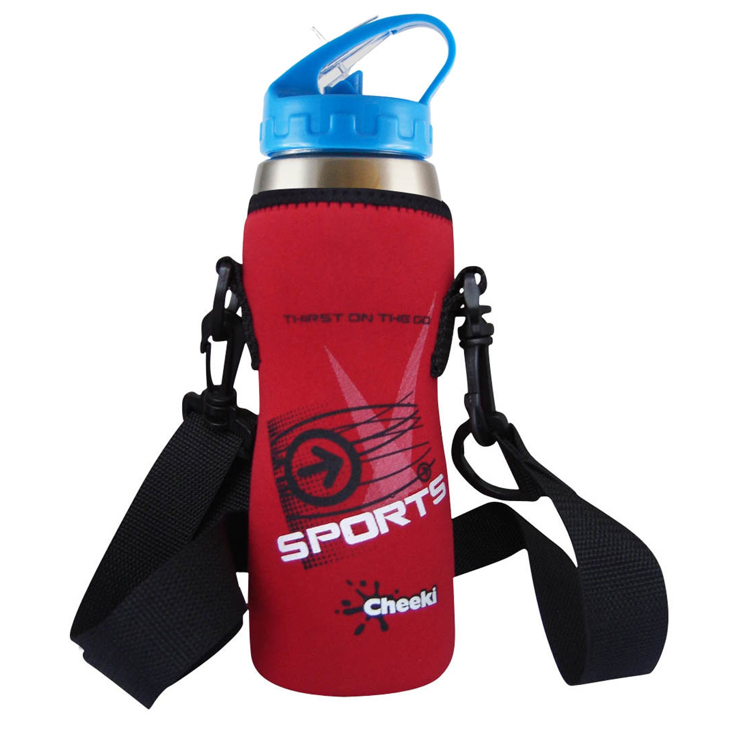 500ml Insulated Sports Pouch Red
