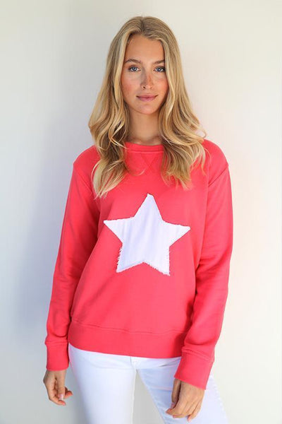 STAR COTTON SWEATER