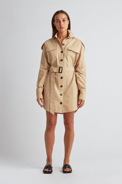 FRANK MINI SHIRT DRESS
