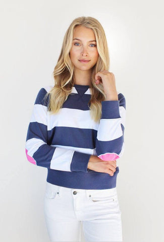 UNI STRIPE COTTON SWEATER