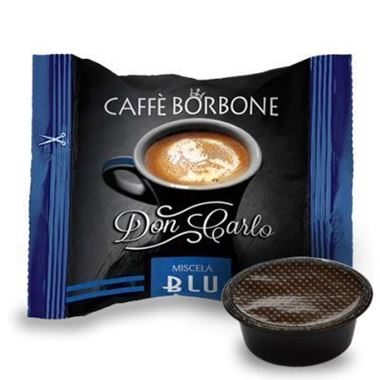 50 Don Carlo BLUE Blend Lavazza* A modo mio. Capsules Intensity 7