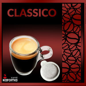 50 Caffe Koroma Classico ESE Paper Pods 44mm. Intensity 8