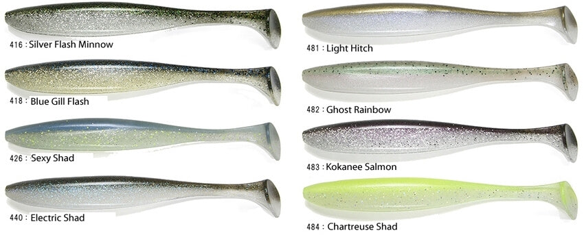 Keitech Easy Shiner Colors