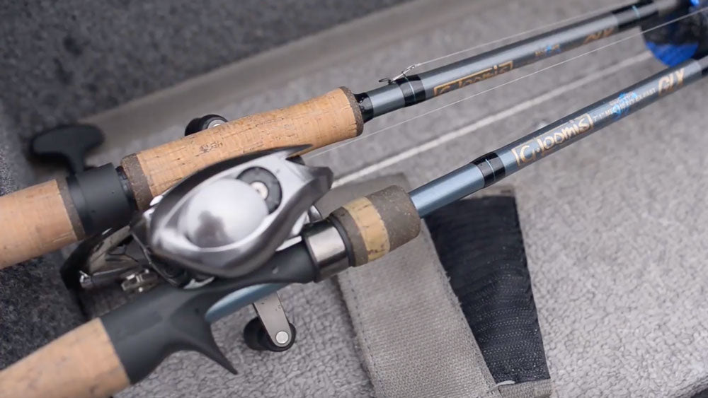 Fishing rod and reel for walleye
