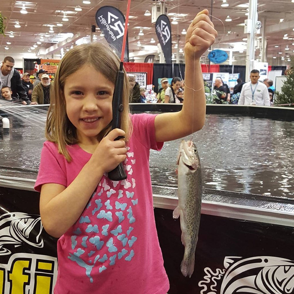 Trout casting at TSS 2016