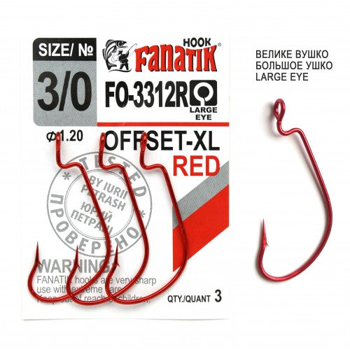 FO3312XL Offset Hook