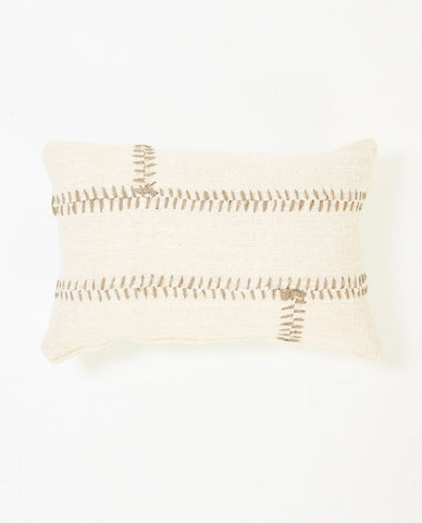 Mabel Cushion White