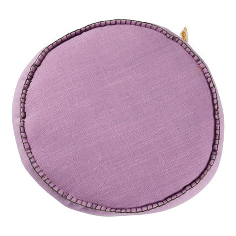 Rylie Round Cushion- Violet