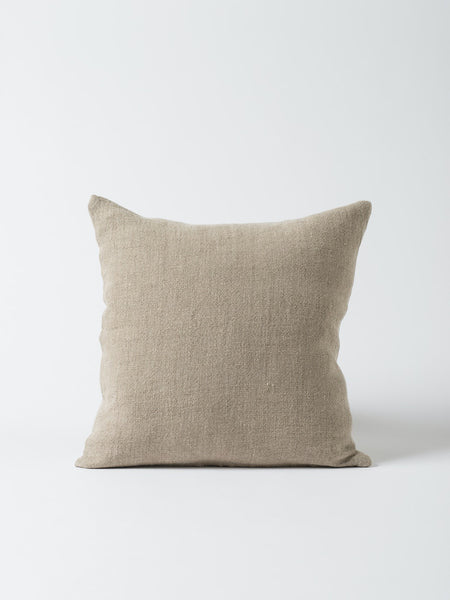 Heavy linen cushion cover Natural 55x55